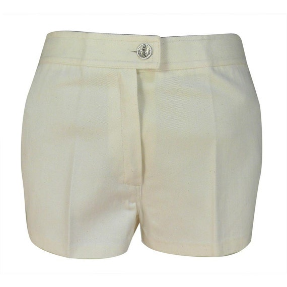 Unworn Vintage white Jeans Shorts