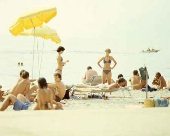 Vintage 70s Beach Series - Set of 3
