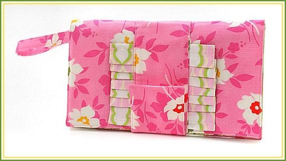 SALE SALE SALE Wristlet Clutch tote Nicey Jane fabrics