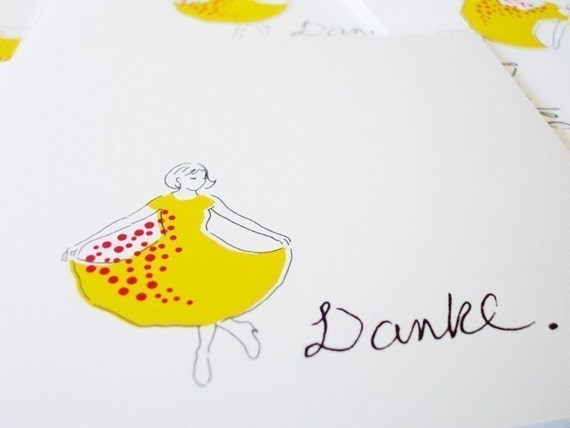 Danke- Thank You Cards