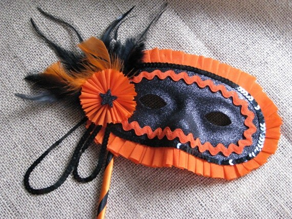 vintage inspired halloween masquerade mask