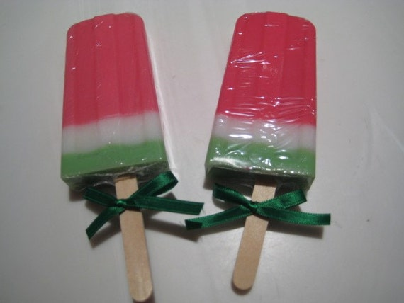 Watermelon Soap Popsicle