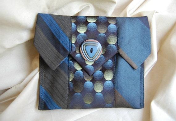Edie Necktie Bitlet Bag OOAK