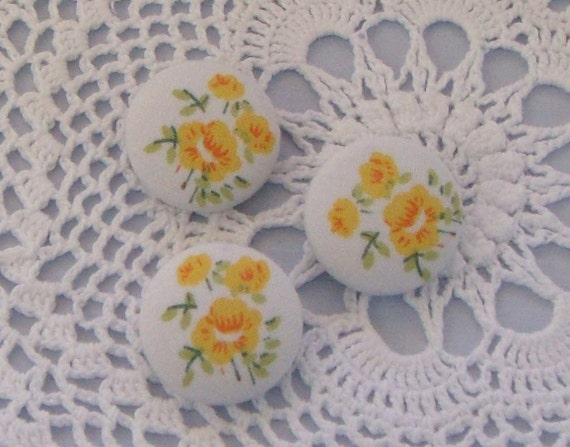 Fabric Covered Buttons - 23mm (50)