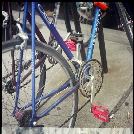 BIKES of PHILLY Bicycle Matted 8 x 10 Photograph