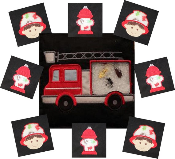 firefighter fire truck I Spy Bags at Giggle Junction