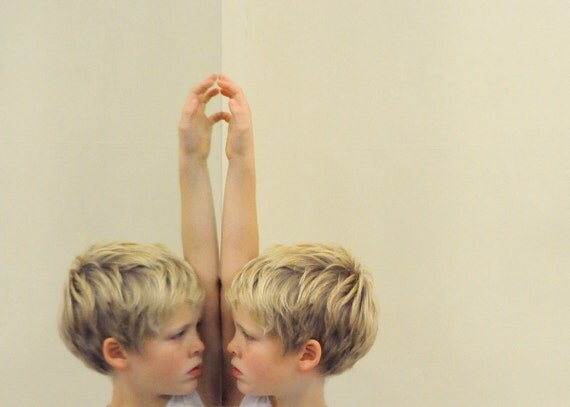 Ballet Boy Reflection Fine Art Photograph
