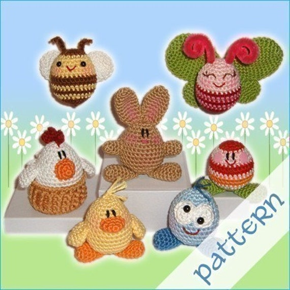 PDF Pattern - Easter Egglings