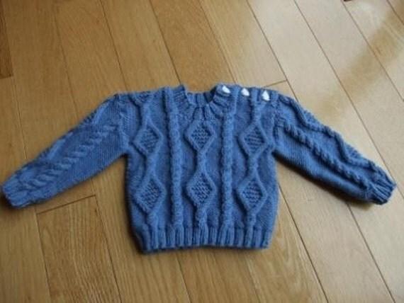 آموزش بافت لباس نوزادی پسرانه
