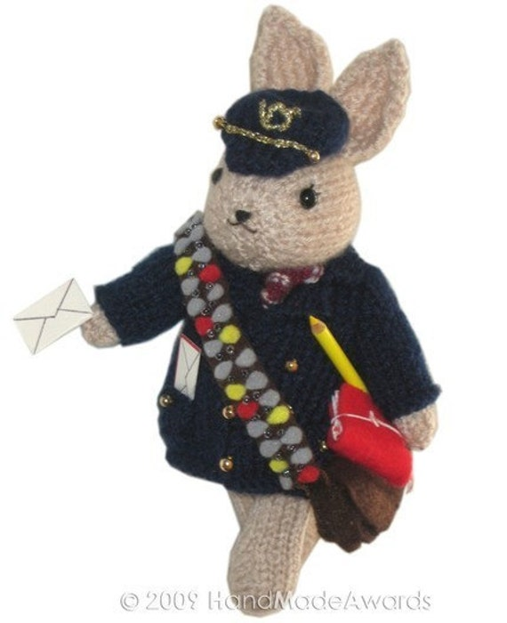 HENRY Our POSTMAN Pdf Email CROCHET PATTERN