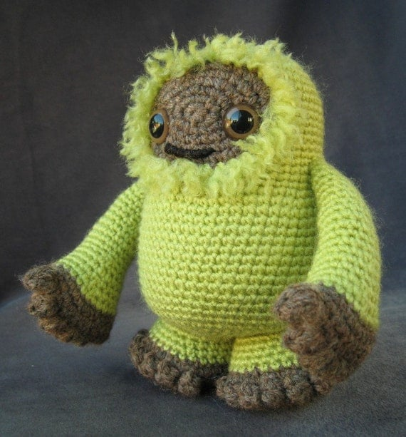 Tree Monster - Amigurumi Creature