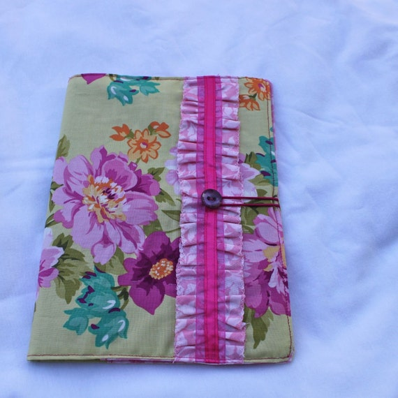 Cottage Fancy - Fabric Covered Notebook