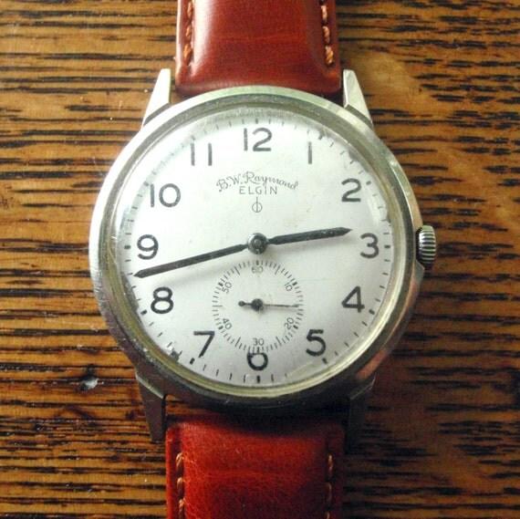 bw raymond elgin watch