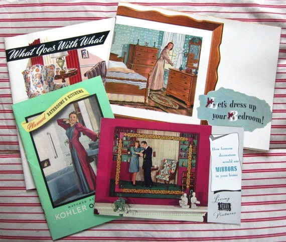 1940s Home Decorating Booklets