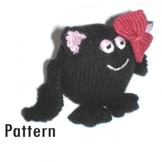 PDF Pattern - Phoebe the Fat Bat - Knitting (and Crochet)