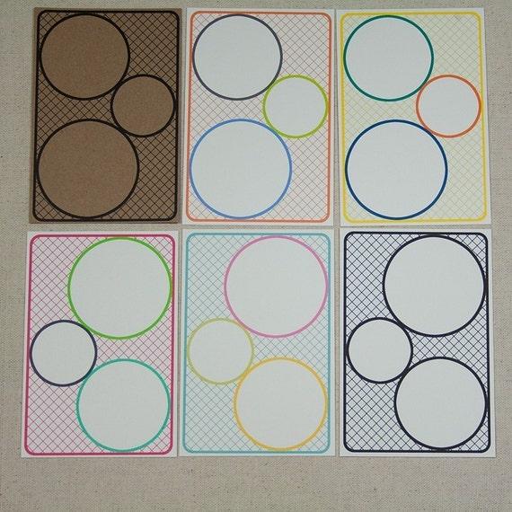 Circle Journal Blocks