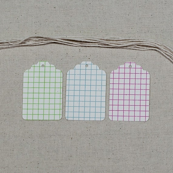 Graph Paper Tags