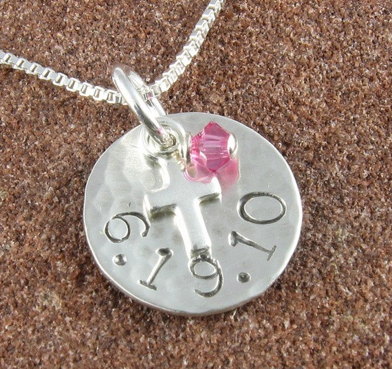 Memorable Date Mini Charm Pendant