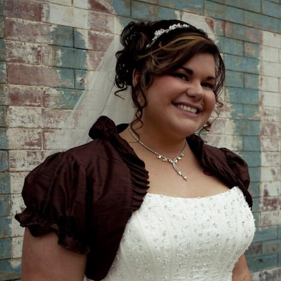 Calissa Ruffle Victorian Shrug - CUSTOM