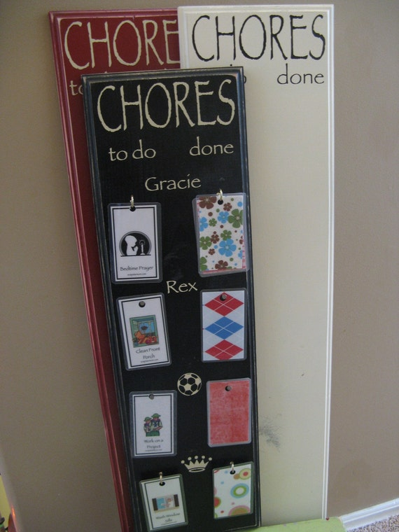 Chore Board - Small (1 or 2 names)