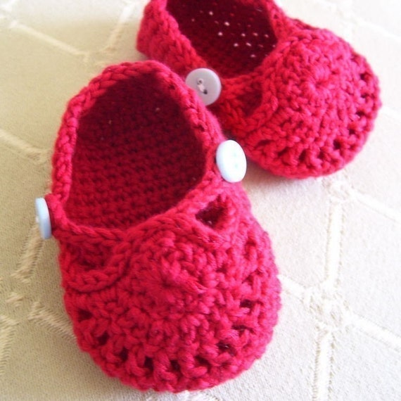 Baby Two-Button Ballet Flats - Pattern PDF