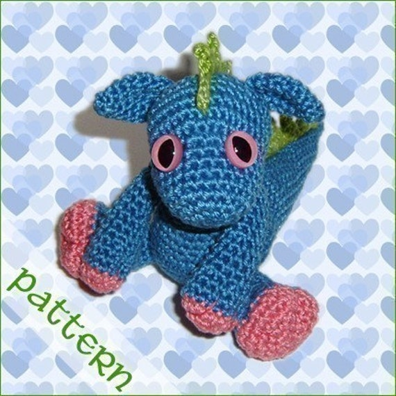 PDF Pattern - Little Dragon