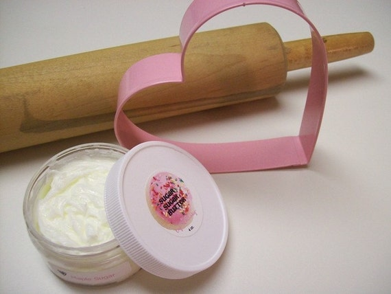 SWEET MAPLE SUGAR SYRUP FROSTED BODY BUTTER LOTION - 4oz.