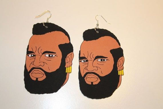Mr. T earrings