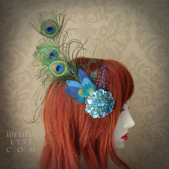 Peacock Wedding Theme Get Feathery with Cruelty Free