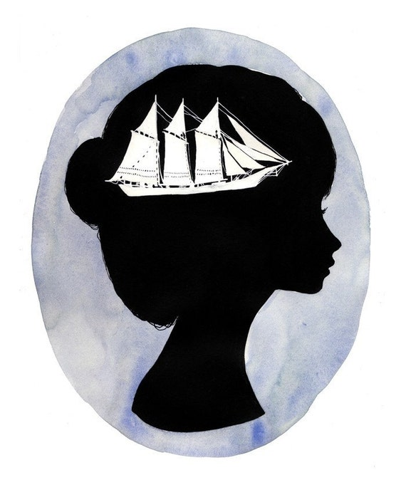 Boat - 9 x 12 print