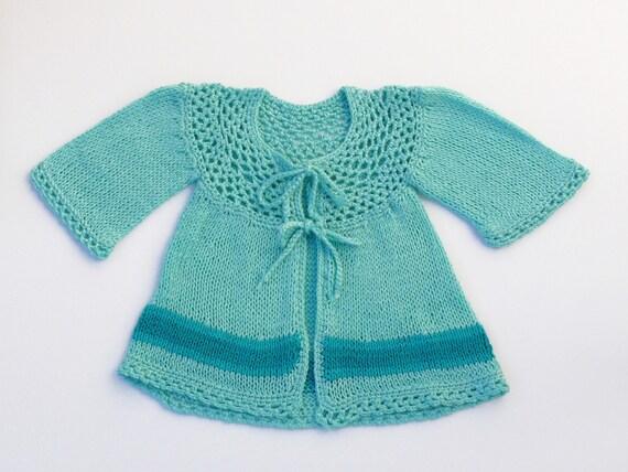 داغ فیروزه دختر عزیزم knitted ژاکت کش باف پشمی
