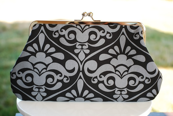 Beautiful Large Clutch and/or Diaper Clutch...Baby Diaper and Wipe Clutch Bag