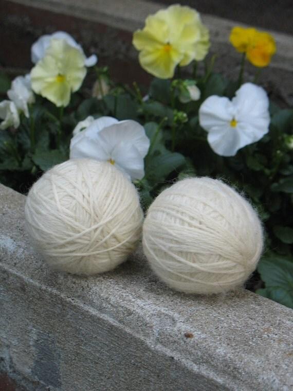 Wool Dryer Balls - Set of 2 Natural