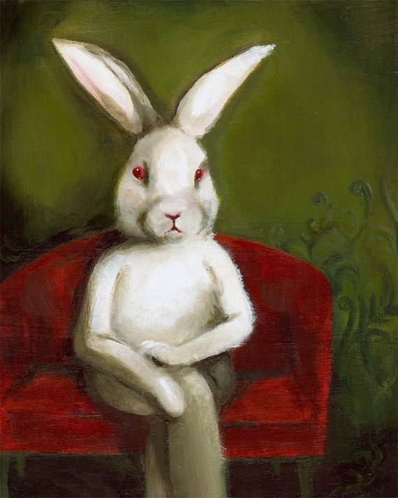 Edgar- Rabbit Art