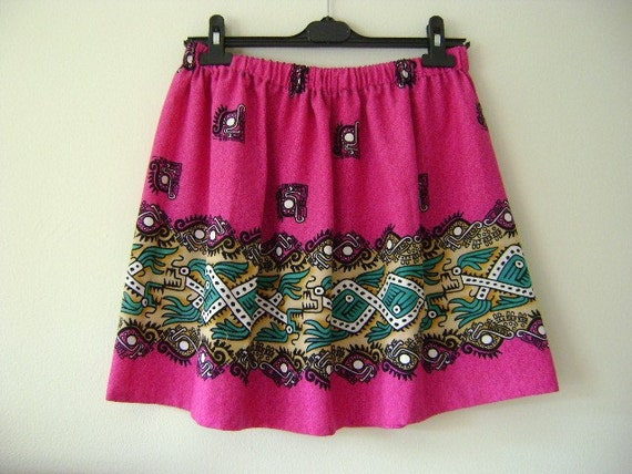 15% Off Holiday In The Sun - Upcycled Skirt