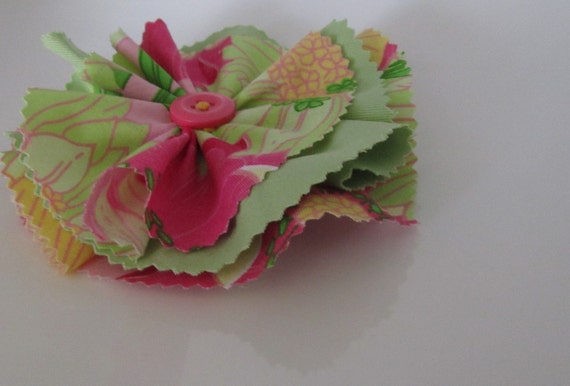 Flower Pin Accessory
