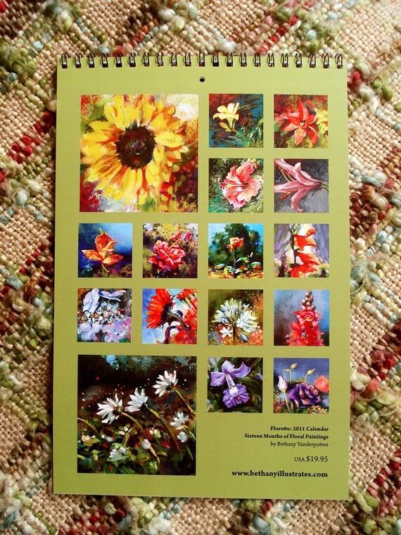 Florette 2011 Calendar
