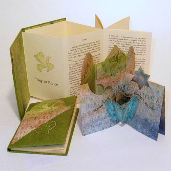 Peace on Earth, Pop Up and Artist Book