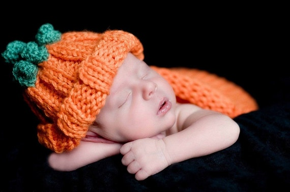 Hat My little Pumpkin. Great for photo prop. Sizes 0-12 month