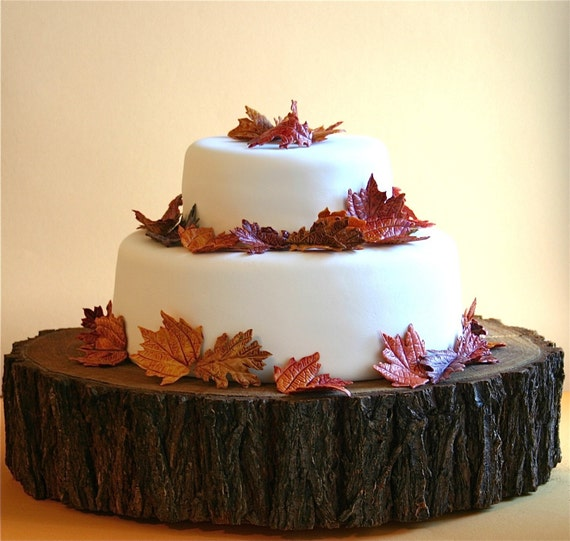 Edible Sugar Fall Leaves 2 dozen ACCEPTING orders now, for FALL
