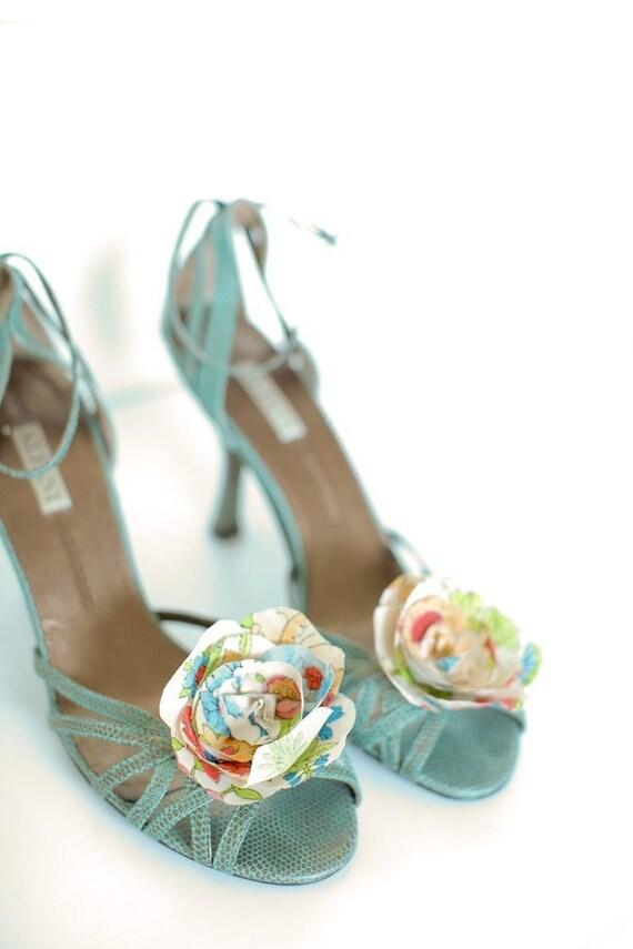 A Flowery Bloom- Shoe Clips