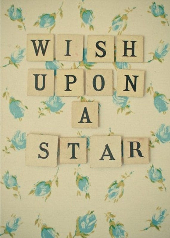 SALE Wish Upon a Star No.2 5x7 Print