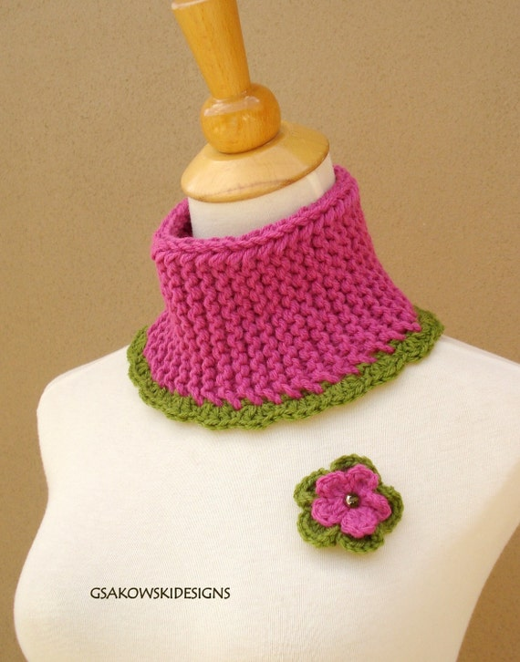 HOLIDAY SALE  Maxine Cowl- Pink