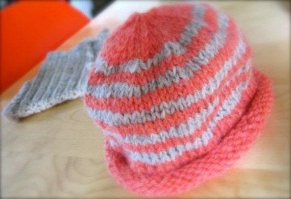 Infant Knit Beanie Hat