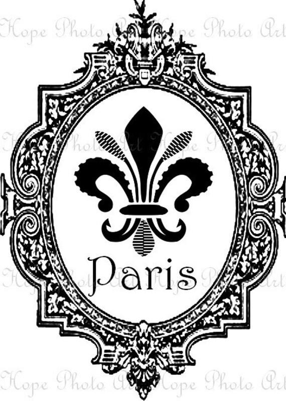 париж надписи