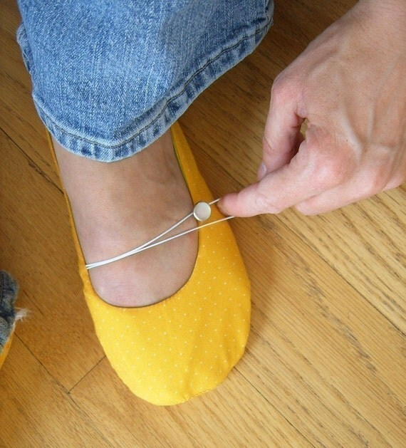 PDF Pattern - Vintage Flair Flats Women's Size 5 - 9