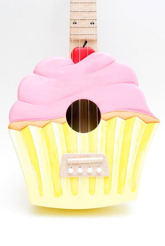 Pink Cupcake Ukulele