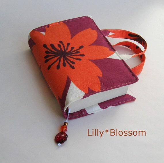 LillyBlossom Book Bag sewing pattern PDF