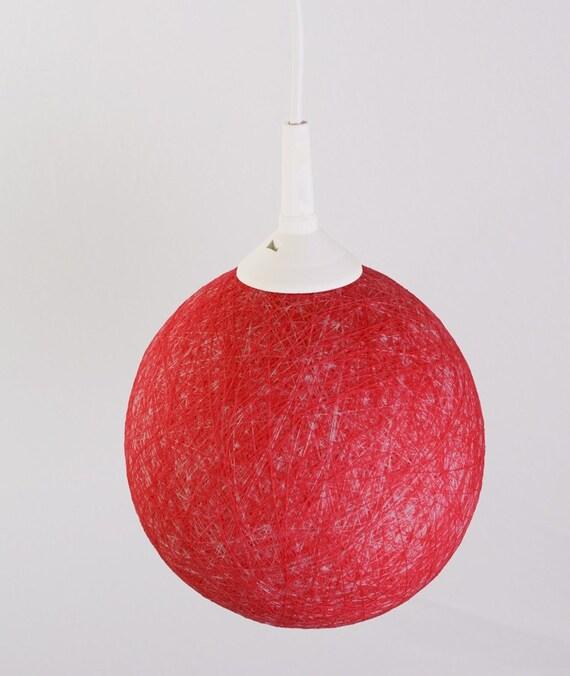 Ручная лампа, абажур, подвесной светильник, потолок, мини-лампой, Современный дизайн интерьера акцент на ярко-розовый FiligreeCreations на Etsy
