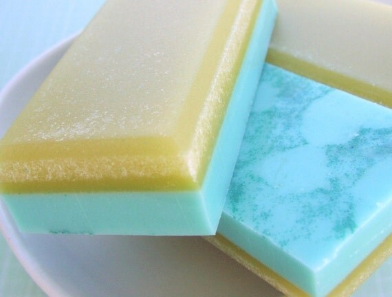 Zucchini Flower Sugar Soap - SALE